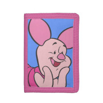 Piglet 8 trifold wallet