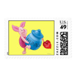 Piglet and Hunny Pot Postage Stamps