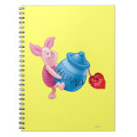 Piglet and Hunny Pot Spiral Notebook