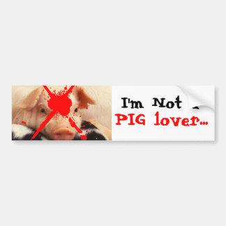 Piglet Bumper Sticker