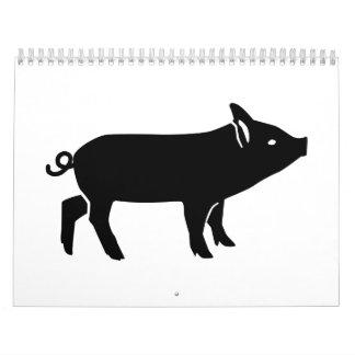 Piglet Calendar