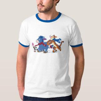 Piglet, Eeyore, and Tigger Skating T-Shirt