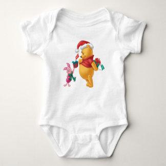 Piglet Gifting Pooh Baby Bodysuit