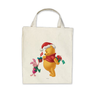 Piglet Gifting Pooh Tote Bags