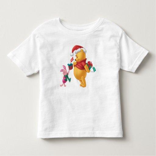 Piglet Gifting Pooh Shirt