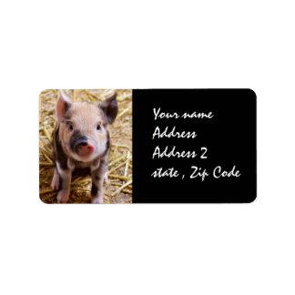Piglet Custom Address Label