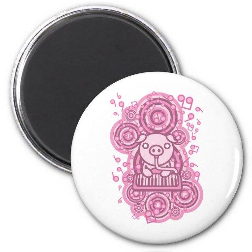 Piglet_Method 2 Inch Round Magnet