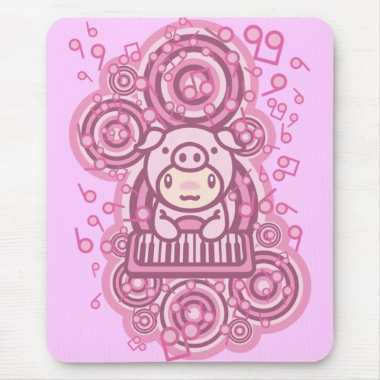 Piglet_Method Mouse Pad