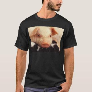 Piglet Pig Adorable Face Snout T-Shirt