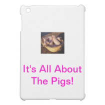 Piglet Pigs iPad Mini Cover