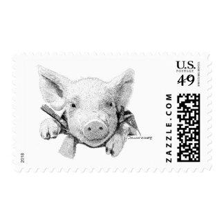 Piglet Stamp