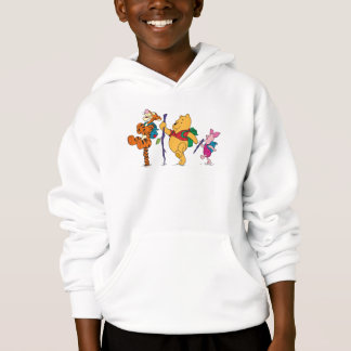 Piglet, Tigger, and Winnie the Pooh Hiking Hoodie