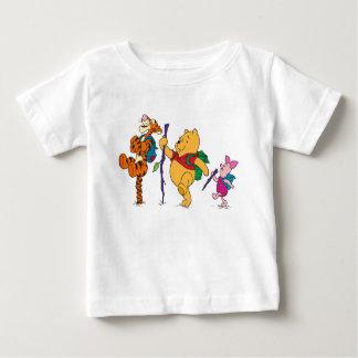 Piglet, Tigger, and Winnie the Pooh Hiking Tee Shirt