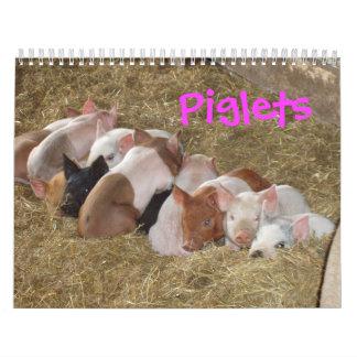 Piglets Calendar