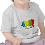 Pigmento de la imaginación camisetas