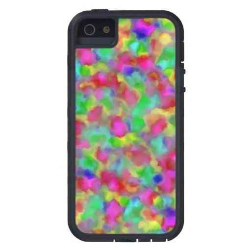 Pigmentos prismáticos iPhone 5 carcasas