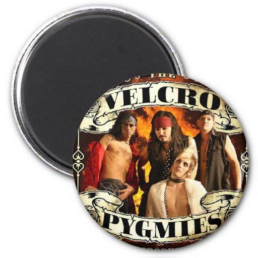 Pigmeos del Velcro Imán Redondo 5 Cm