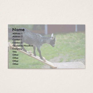 Pigmy Goat Business Card