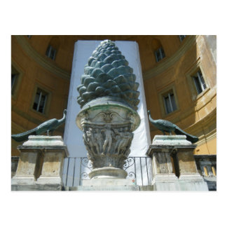 Pigna Sculpture in the Vatican Post Cards