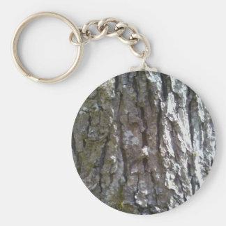 Pignut Hickory Tree Bark Keychain