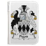 Pigott Family Crest Kindle 3 Covers