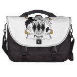Pigott Family Crest Laptop Messenger Bag