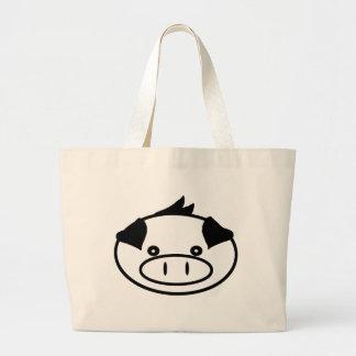 PigPig Tote Canvas Bag