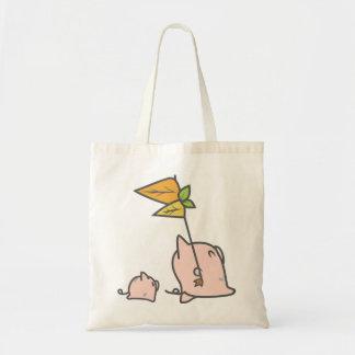 Pigpu Leads the Way Budget Tote Bag