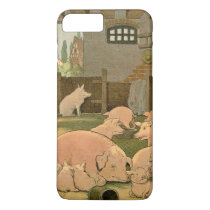 Pigs and Piglets on the Farm iPhone 8 Plus/7 Plus Case
