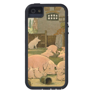 Pigs and Piglets on the Farm Cover For iPhone 5/5S