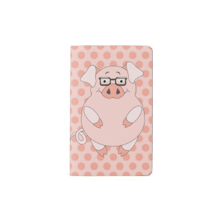 Pigs And Polkadots Notebook Pocket Moleskine Notebook Cover With Notebook