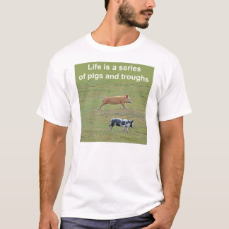 Pigs-and-troughs T-shirt