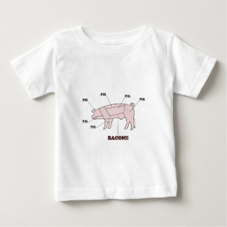 Pigs are bacon. The rest is just meat! Baby T-Shirt