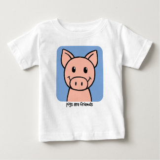 Pigs Are Friends Baby T-Shirt