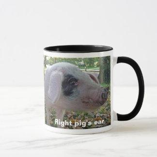 Pig's ear mug
