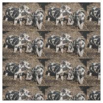 Pigs Fabric