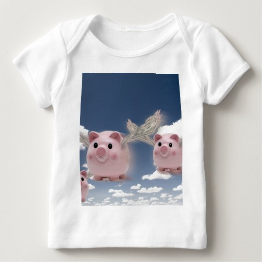 Pigs Fly Baby T-Shirt