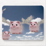 Pigs Fly Mouse Pad