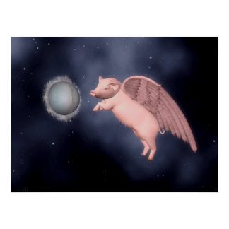 pigs fly posters