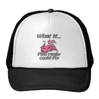 Pigs Fly Trucker Hat