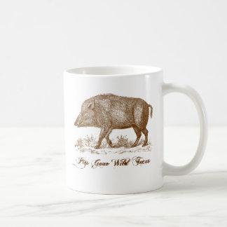 Pigs Gone Wild Texas Coffee Mug