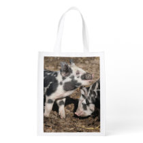 Pigs Grocery Bag