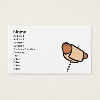 pigs in a blanket hors d oeuvres business card