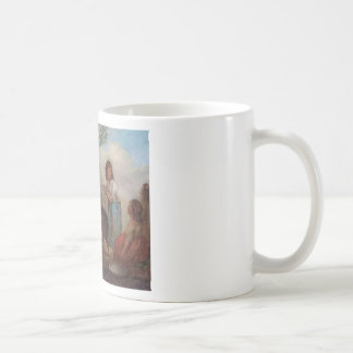 Pigs in a Farmyard by George Morland Coffee Mug