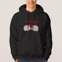 pigs in love hoodie