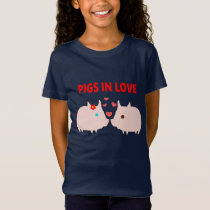 pigs in love T-Shirt