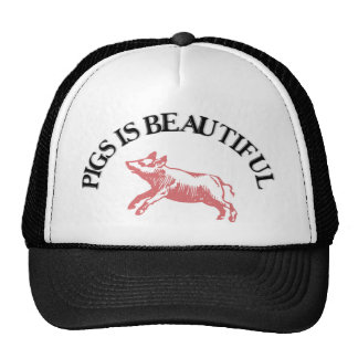 Pigs is Beautiful Trucker Hat