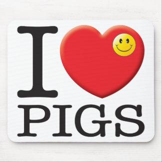 Pigs Love Mousemat