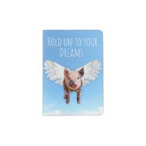Pigs Might Fly Passport Holder