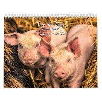 Pigs & Piglets Calendar - 2022